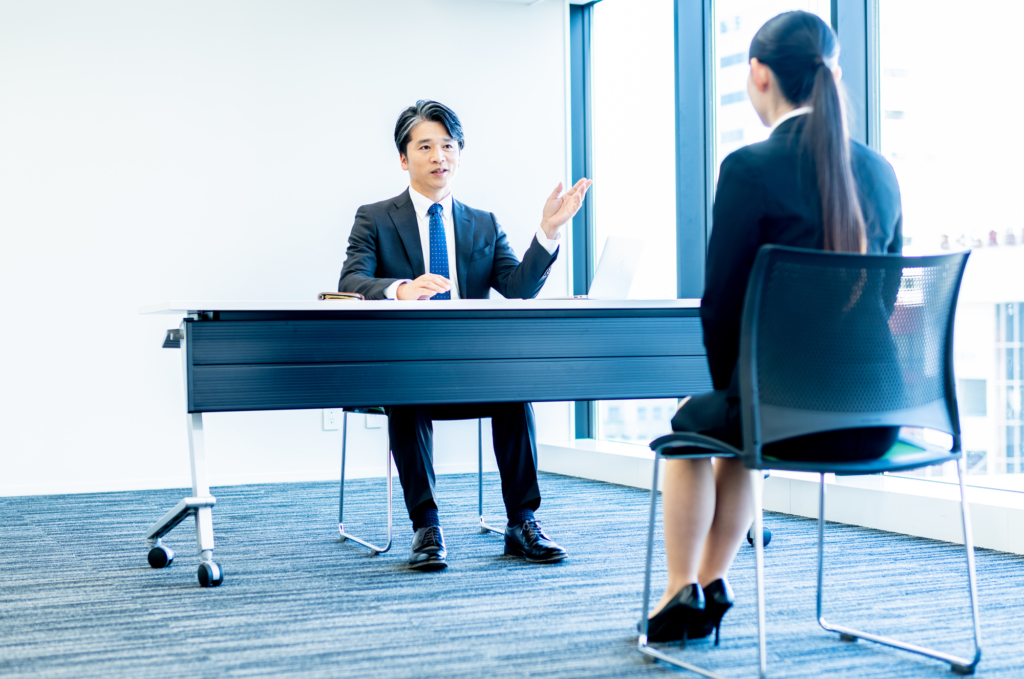 Japanese job interview