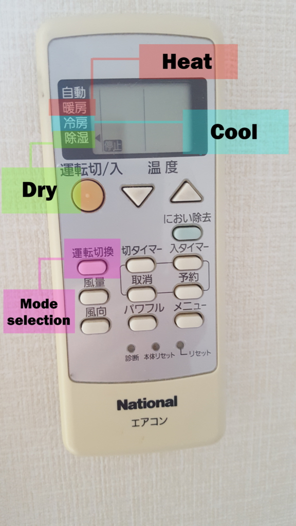 hướng dẫn sử dụng điều khiển điều hòa ở nhật bản (với hình ảnh của 6 loại điều khiển) - tsunagu local