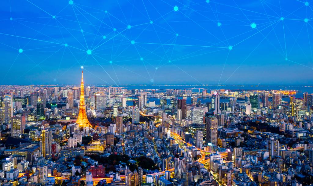 可以看到東京鐵塔的東京夜景