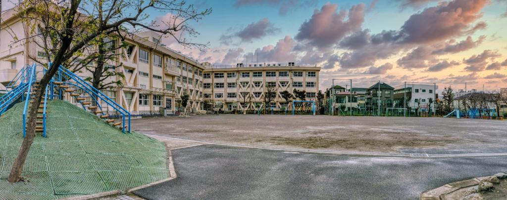 Japanese schoolyard