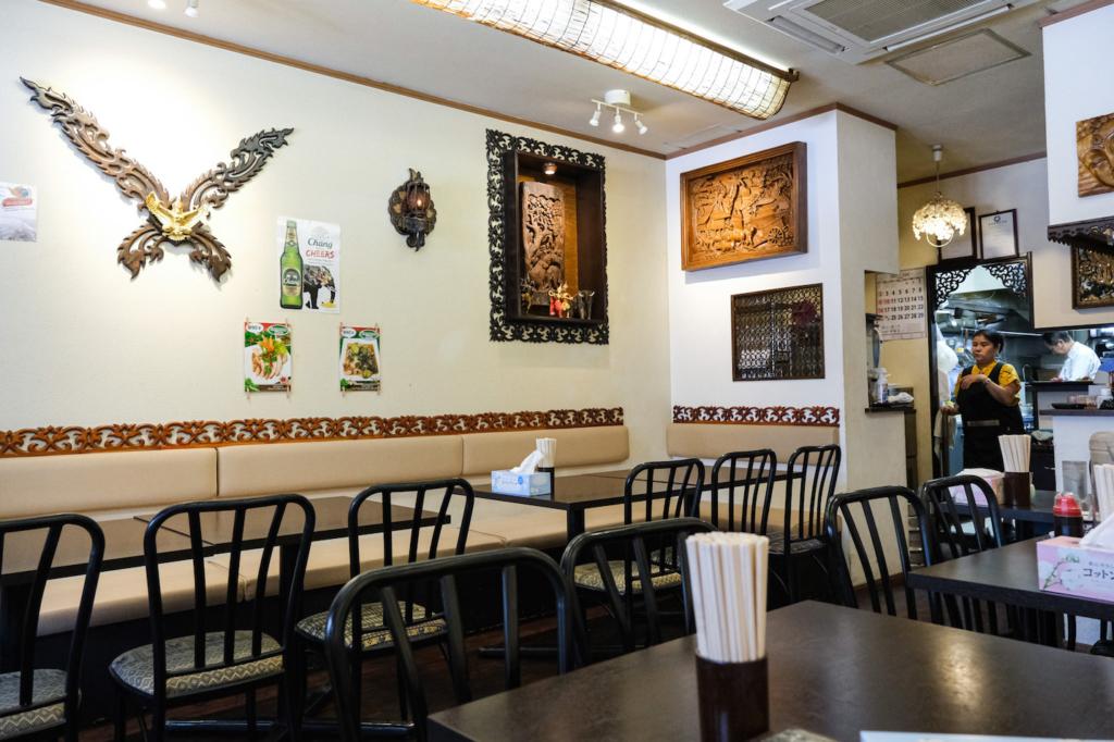 ร้านอาหารไทย siam cuisine