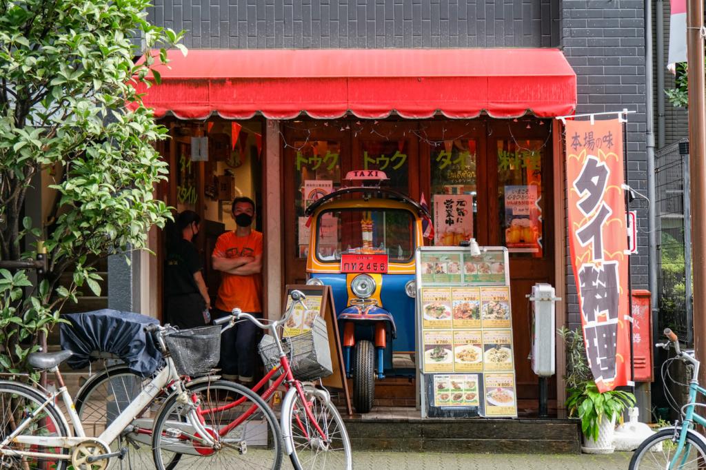ร้านอาหารไทย tuktuk hongosanchome