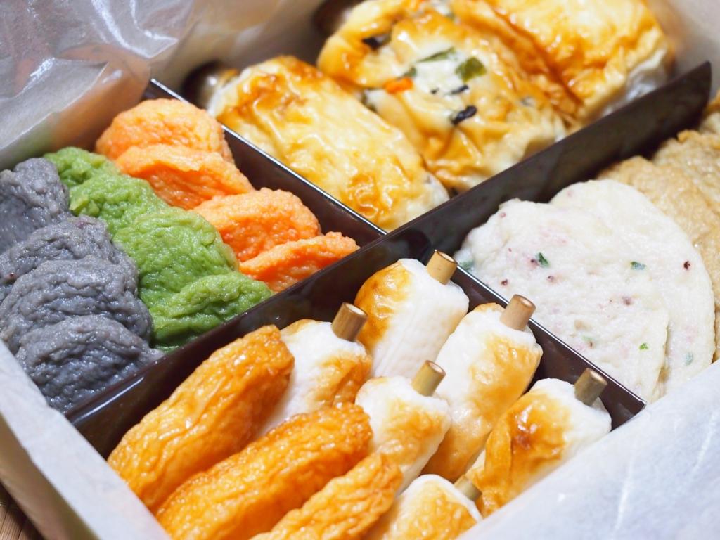 四種魚板禮盒