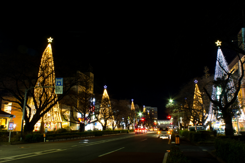 เมืองคุนิตาจิ คริสต์มาส