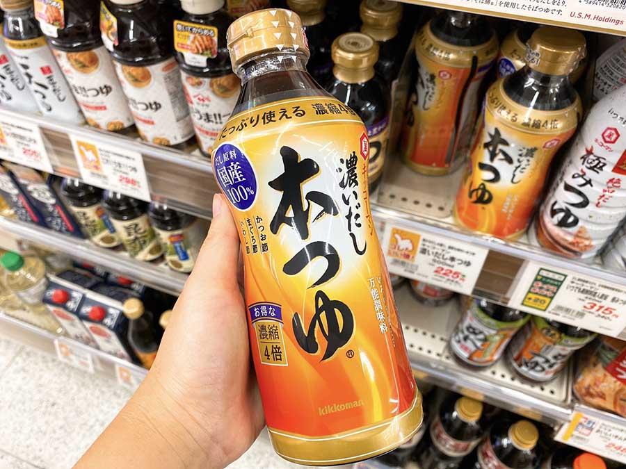 日式醬油露商品