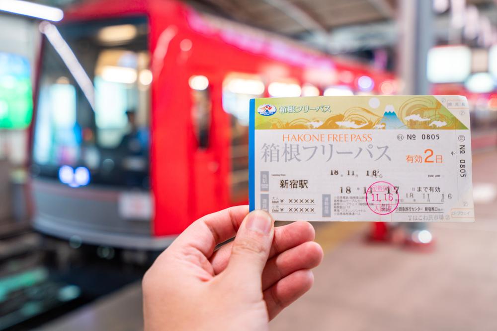 Hakone Free Pass Train Travel Pass