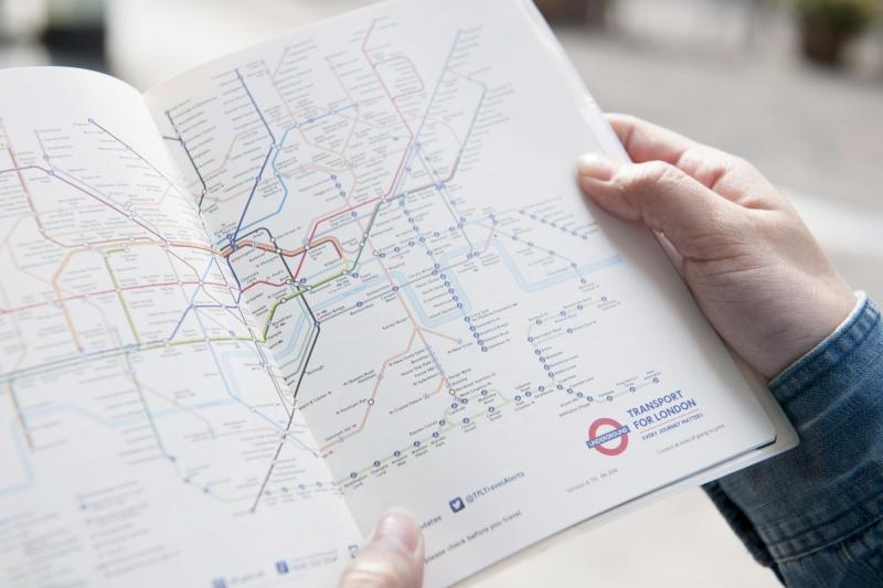 bản đồ hệ thống tàu điện