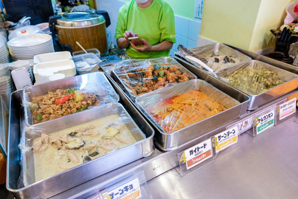 ร้านอาหารไทย ซอยนานา อาหารกลางวัน