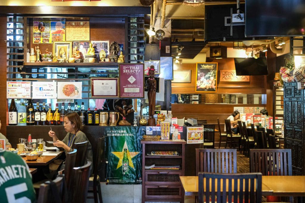 ร้านอาหารไทย ส้มโอ โตเกียว