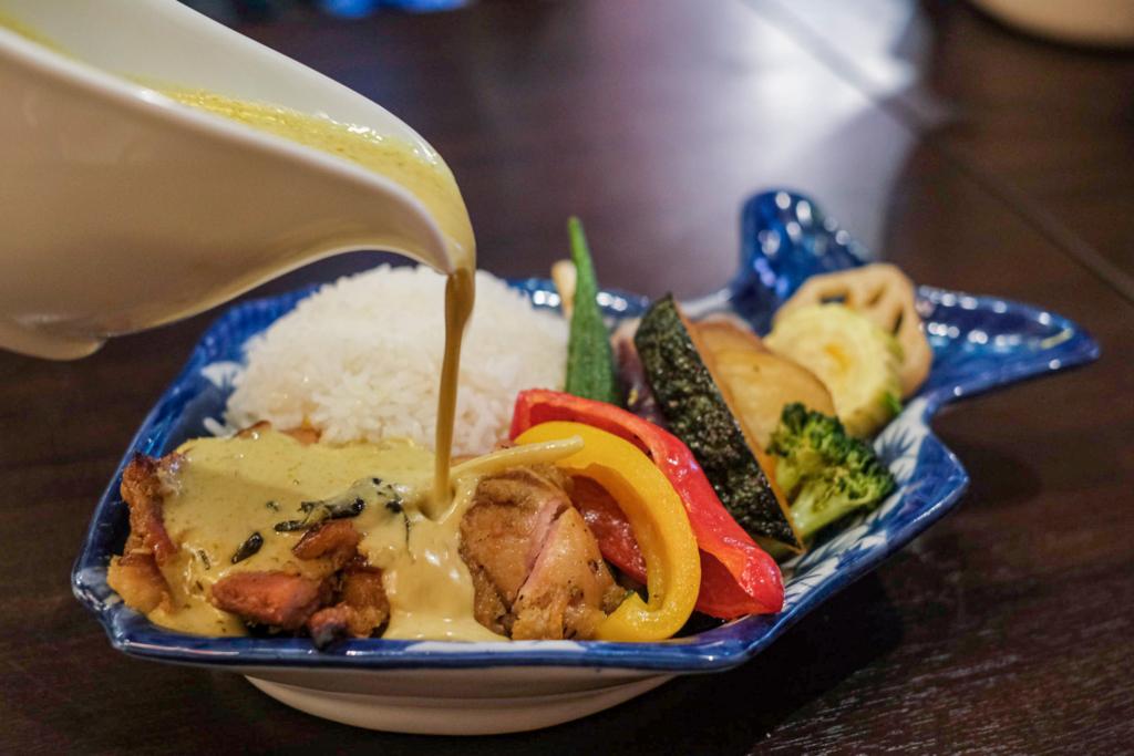 ร้านอาหาร thai than แกงเขียวหวาน