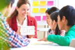 Teaching English To Happy Students
