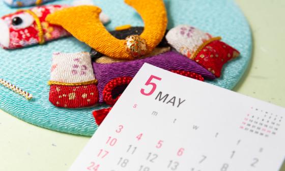 lịch tháng 5