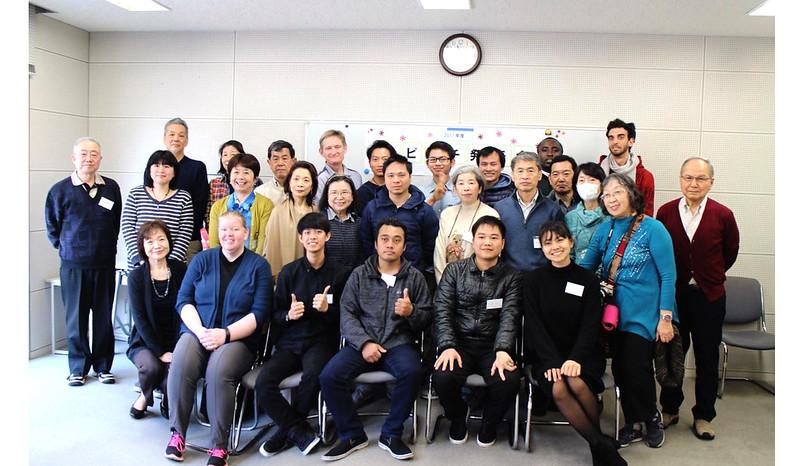 lớp học tiếng Nhật tình nguyện