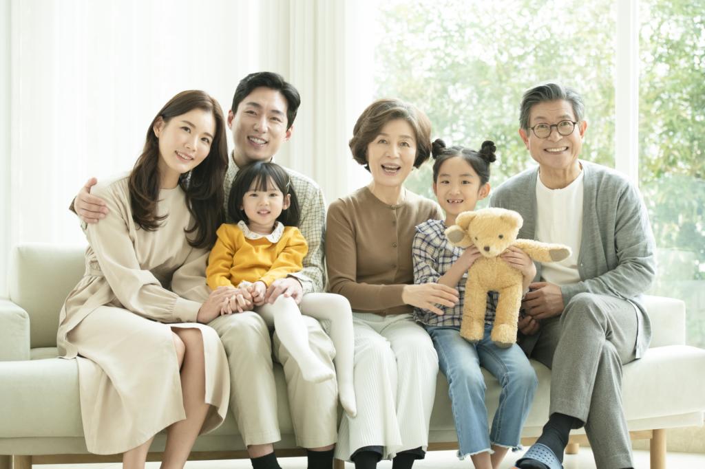 일본 가족