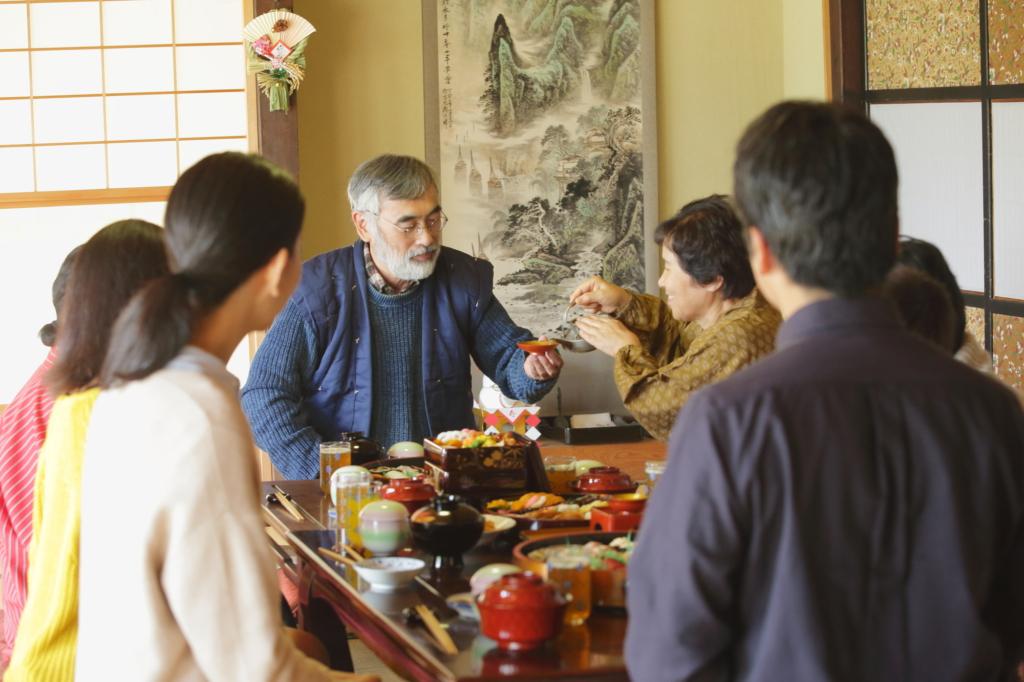 bữa cơm đầu năm mới của người Nhật