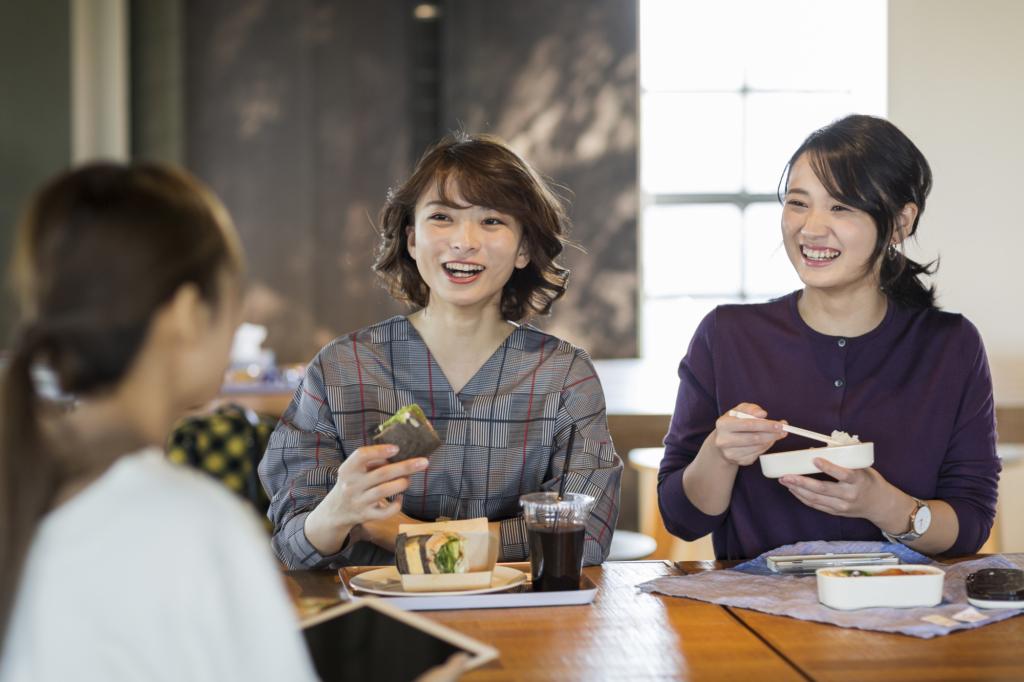 일본 점심시간