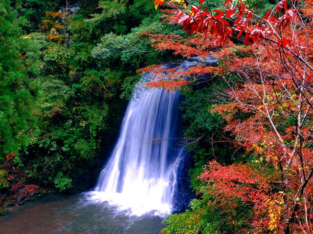 Thác nước Yomogi Fudo