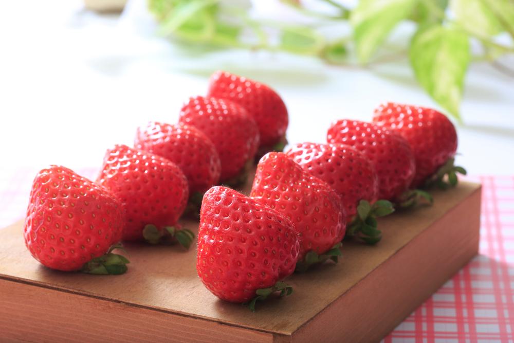 Fukuoka amaou strawberries