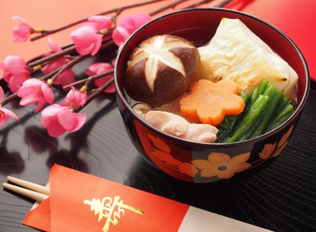 súp năm mới và iwaibashi