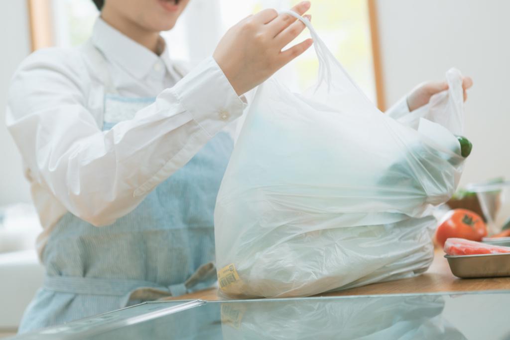 túi nilon đựng thực phẩm