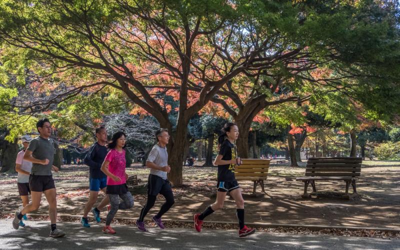 best jogging spots in Tokyo