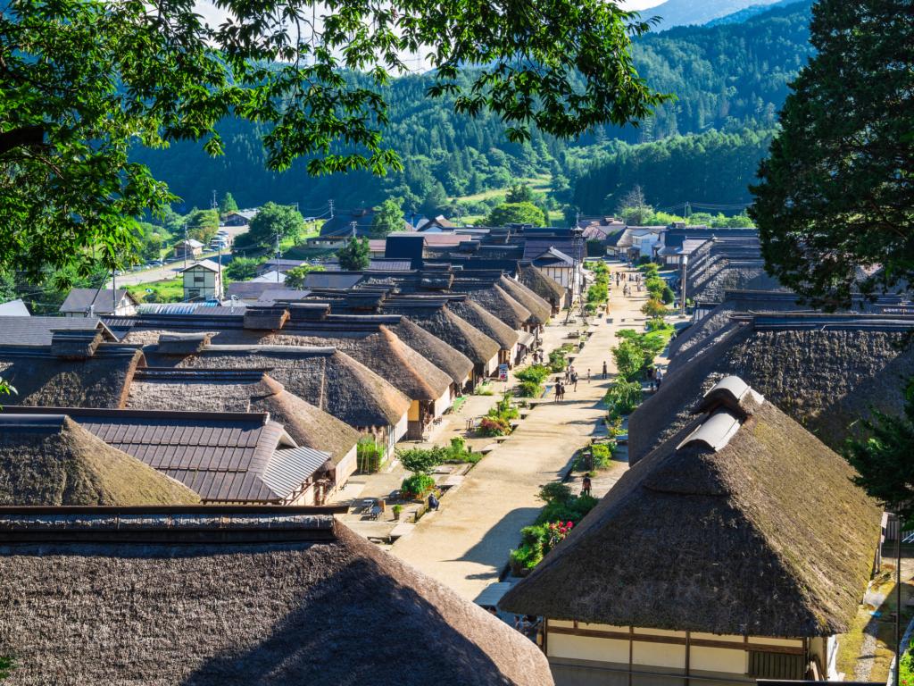 làng Ouchi-juku