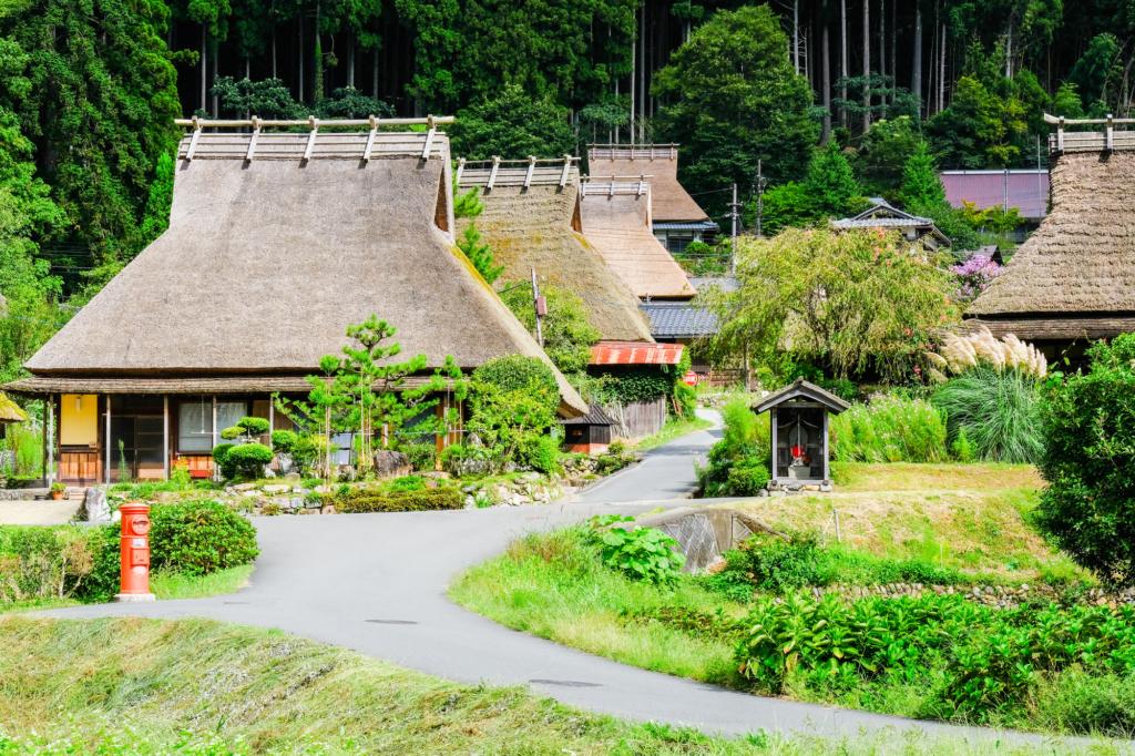 làng Miyama Kayabuki no Sato