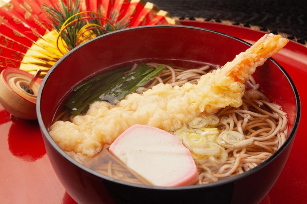 mì Toshikoshi soba ăn vào đêm tất niên
