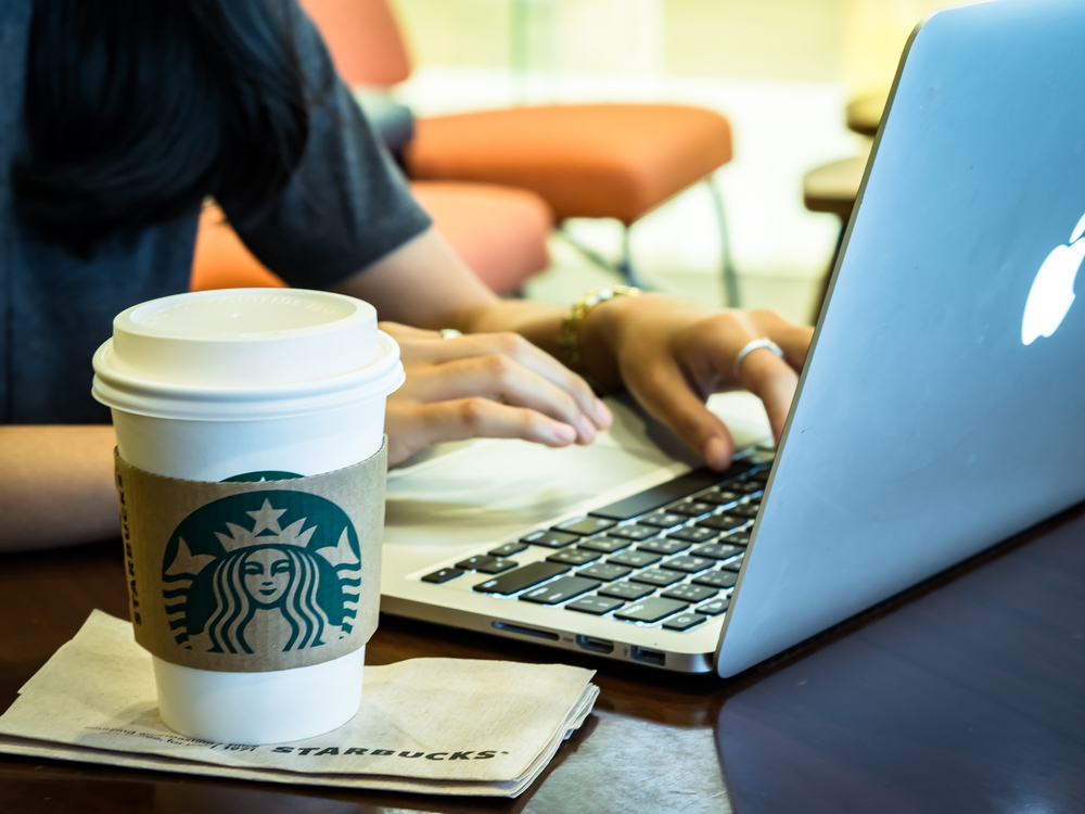 best unique spaces for remote wrok telework in tokyo starbucks