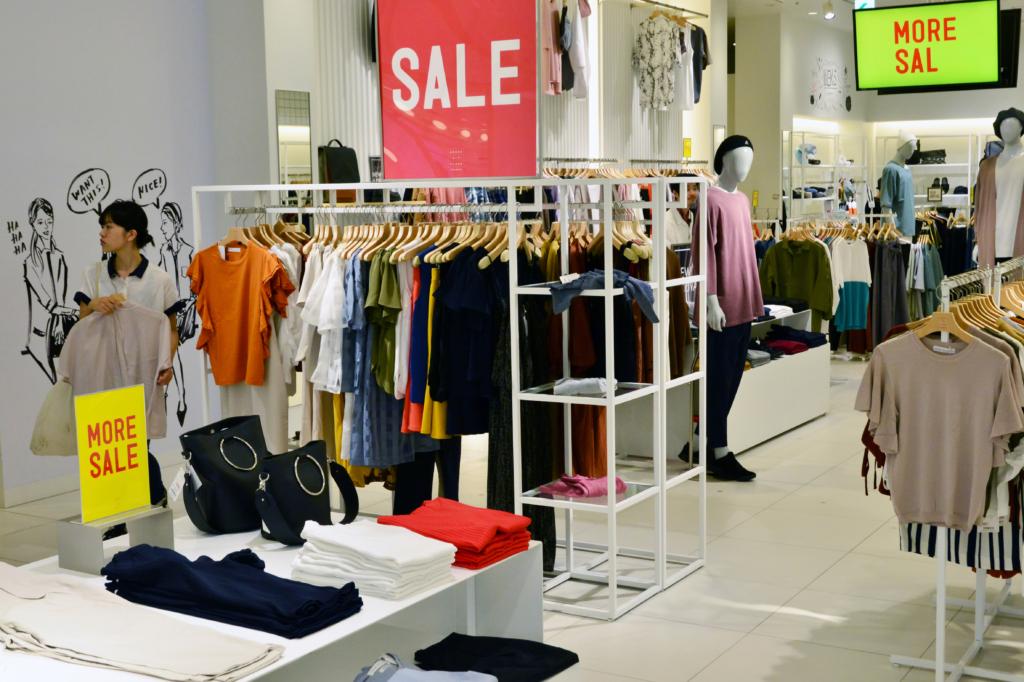 quần áo giảm giá