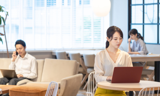 telework remote work japan tokyo unique places-