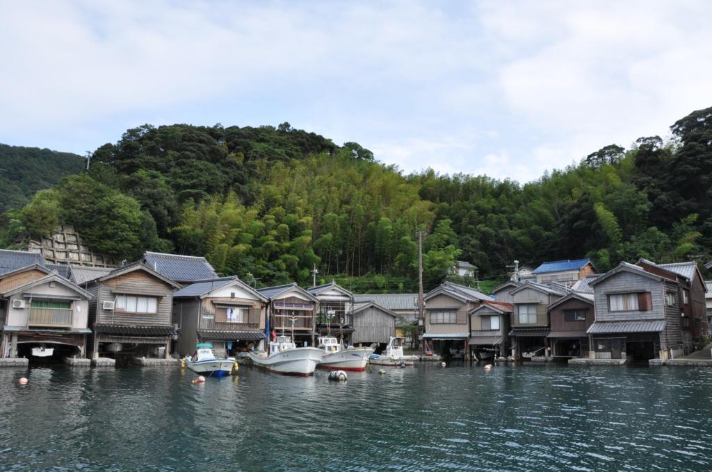 Ine funaya boathouses