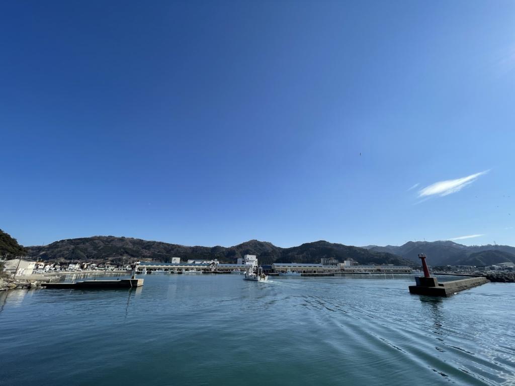 Kansai fishing port