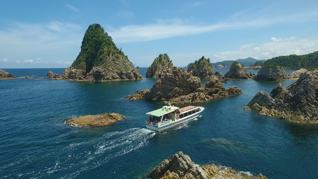 Uradome Coast Sightseeing Boat