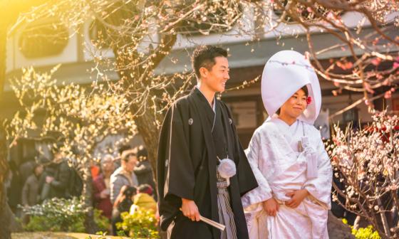 đám cưới tại Nhật