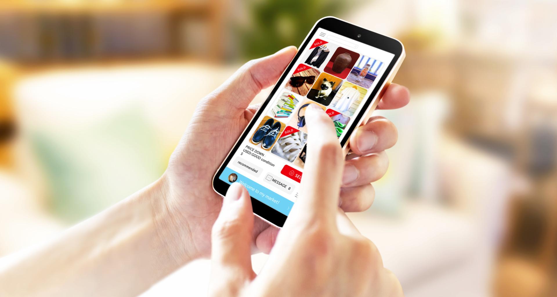 ứng dụng mua bán đồ cũ Mercari