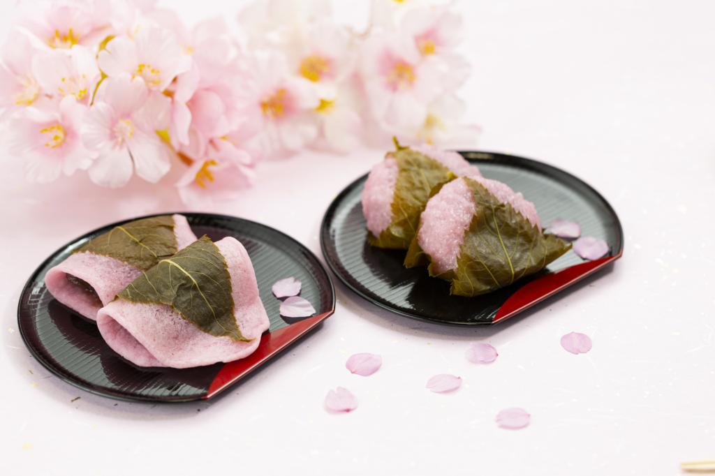 關東櫻餅與關西櫻餅
