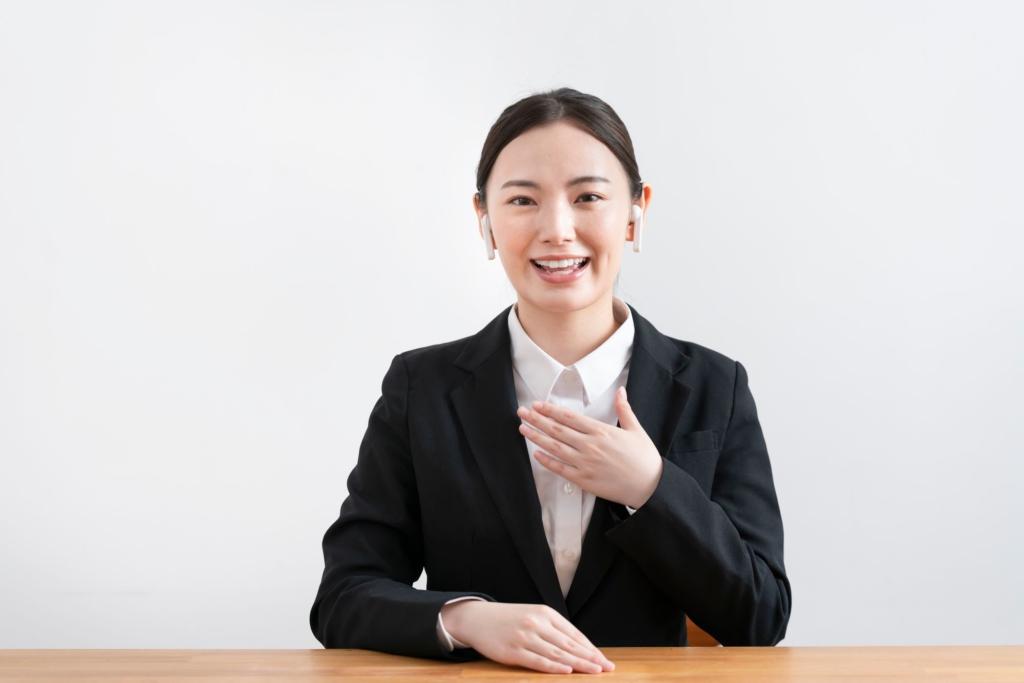 tư thế ngồi khi phỏng vấn xin việc