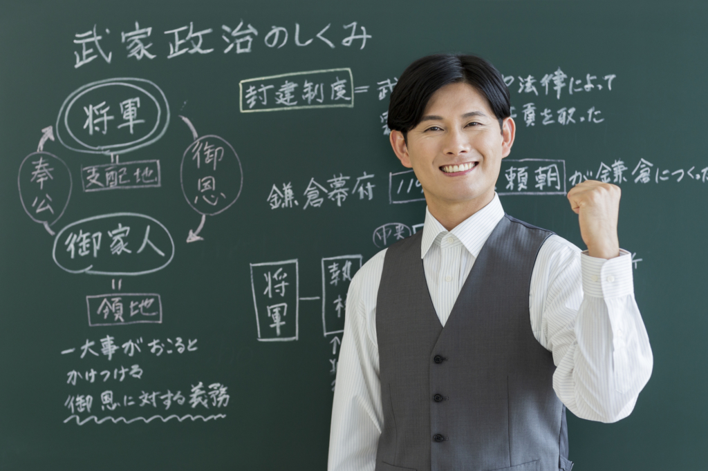 man wishing you good luck on the SPI test in japan