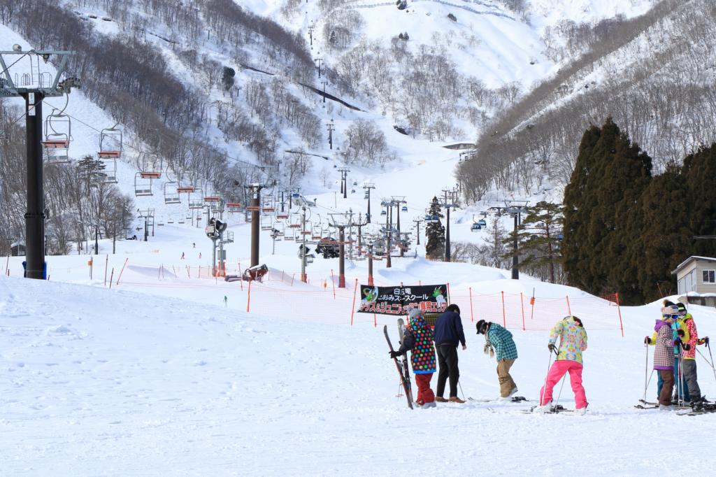 A large ski field