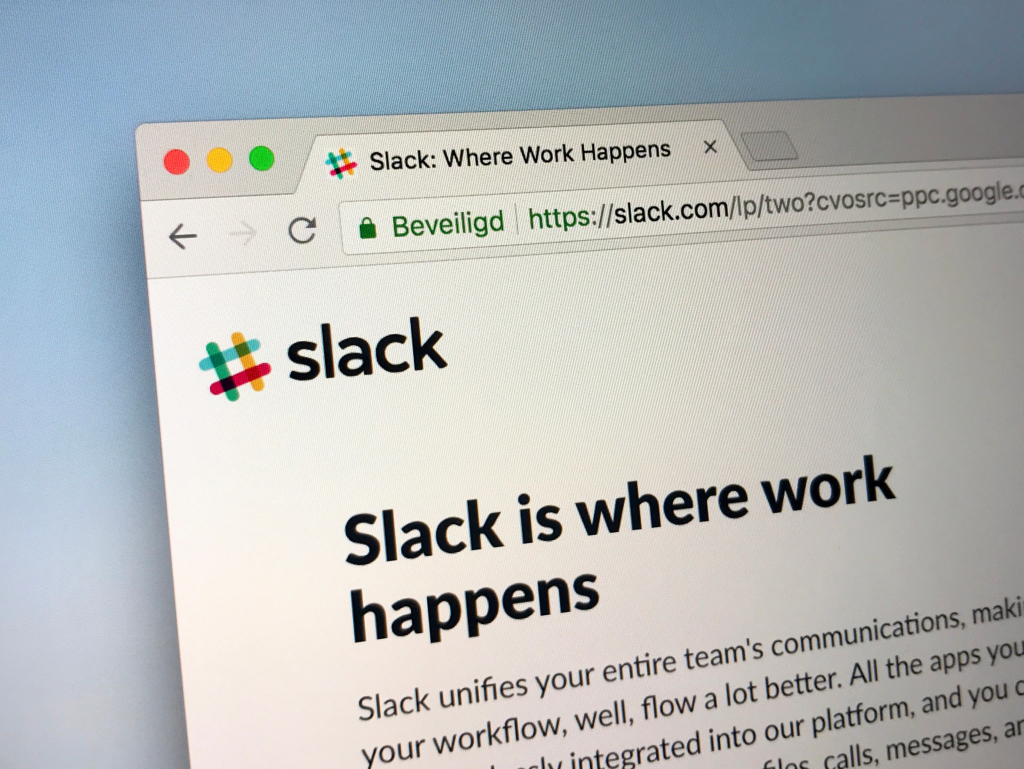 ứng dụng Slack